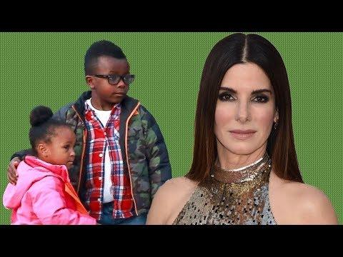 Sandra Bullock's kids: