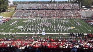 Troy University Band Day October 19, 2012