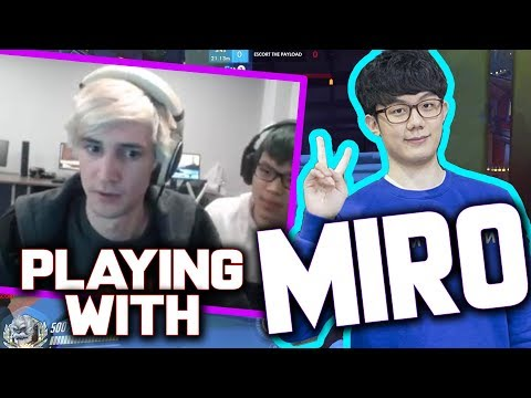 xQc PLAYS with MIRO and Harryhook + Cocco (+ Mickie takes over xQc's stream)