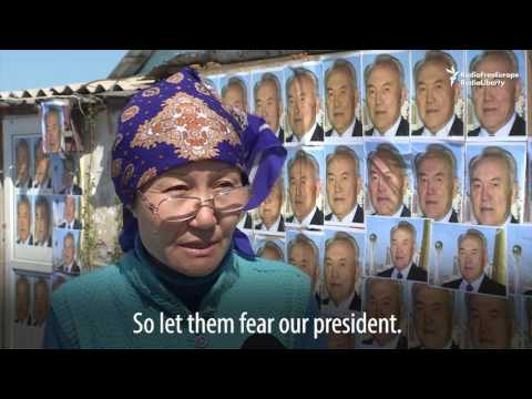 To Save Her Home, Kazakh Covers It With Portraits