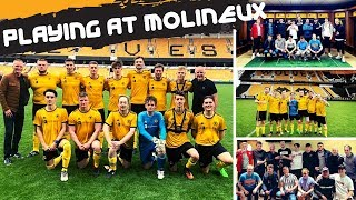 🤗 What it's like to play at MOLINEUX 🤩 home of Wolves FC