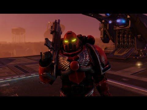 XCOM 2: Space Marine Mod Teaser (Warhammer 40K Mod SNEAK PEEK!)