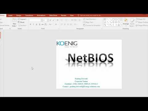 Understanding Concept Of NETBIOS And NETBIOS Enumeration