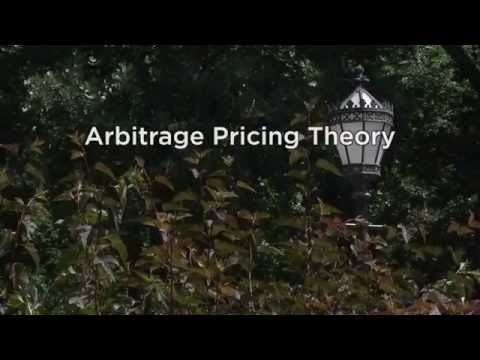 6.14 APT (Arbitrage Pricing Theory)