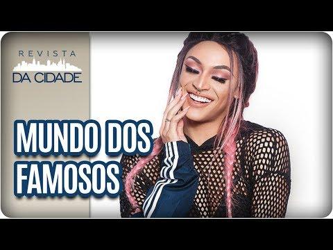 Silvio Santos E Luana Piovani,  Documentário Sobre Pabllo Vittar - Revista Da Cidade (12/01/2018)