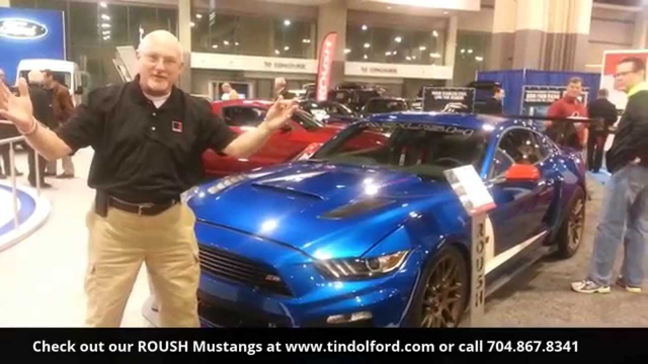 ROUSH RS Trak Pak Mustang At Tindol Ford Subaru ROUSH In - Tindol ford car show