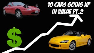homepage tile video photo for Cars going up in value Pt 2