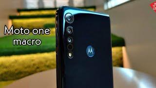 Motorola one macro ya es oficial  || características ||
