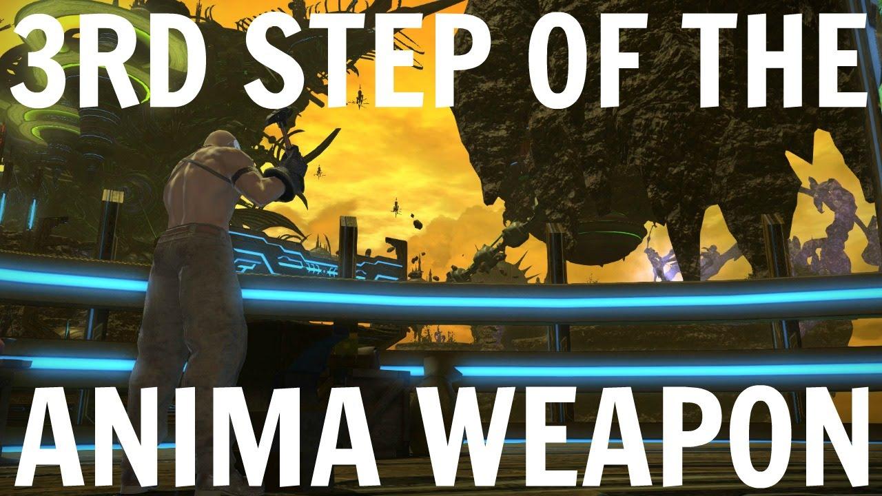 FFXIV Heavensward: 3rd Step Of The Anima Weapon
