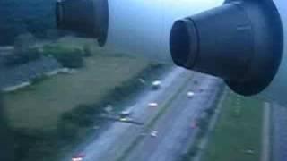 landing in frankfurt lufthansa eurowings bae 146 300