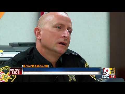 Deputy stops woman from jumping off bridge