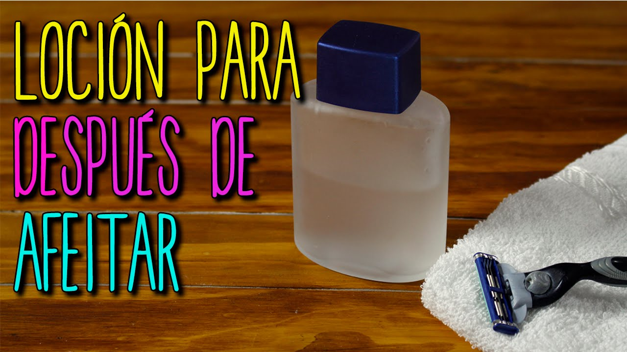 Locion Para Después De Afeitar Casera Piel Sensible Diy After Shave Catwalk Youtube