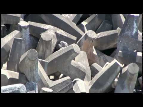 iMovie trailer using concrete dolos