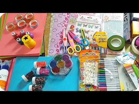 Craft stationery items / craft materials