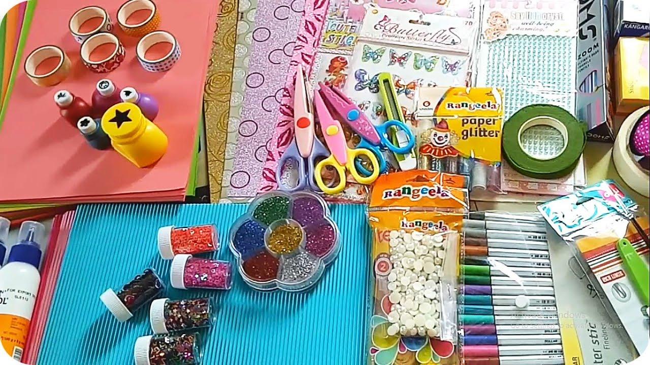 craft items stationery materials