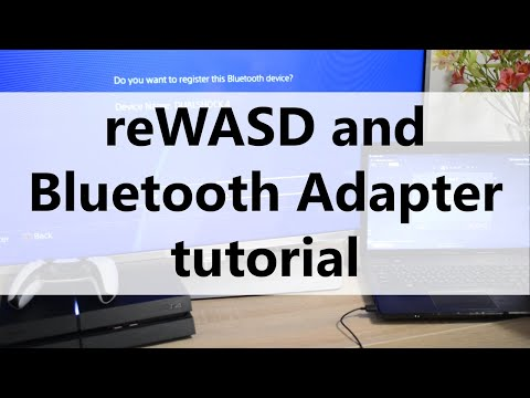 Use ReWASD And Bluetooth Adapter To Play PlayStation 4 Games With Mouse And Keyboard