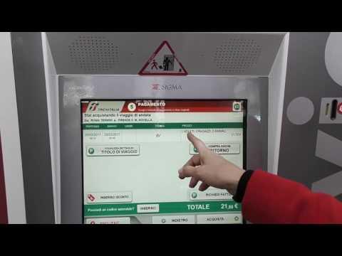 Рома Термини - как приобрести билеты в автоматических кассах