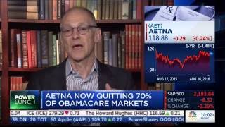 Obamacare architect Zeke Emanuel claims Aetna pulling out of exchanges is politically motivated
