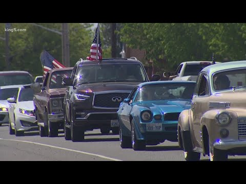'Freedom Parade' Goers In Lynden Demand Gov. Inslee Let Whatcom County Reopen