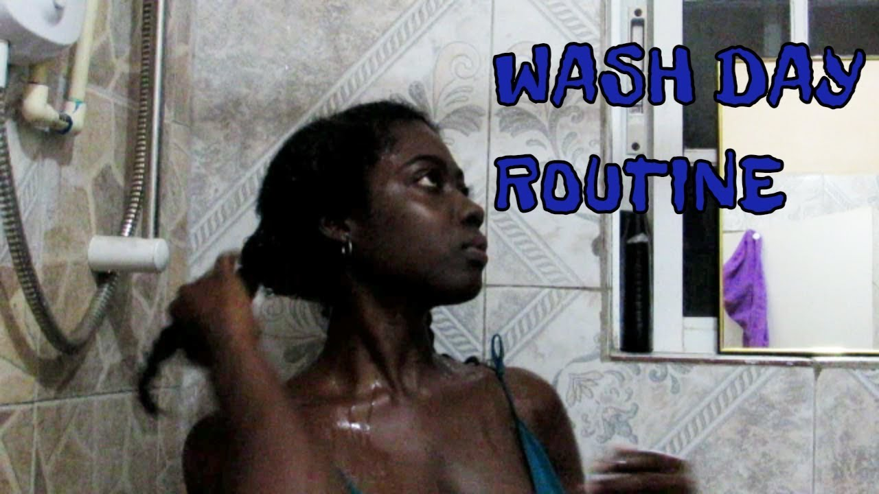 JAMAICAN VLOG #13 | WASH DAY ROUTINE | KEM DOES VOICE OVER