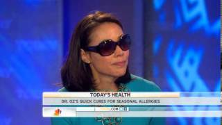 Dr. Oz Favorite medication-free allergy remedies - Video on TODAY.com