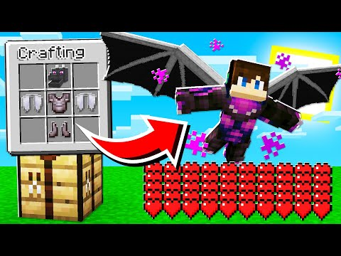 How To CRAFT MOB ARMOR And WEAPONS In Minecraft Tutorial!