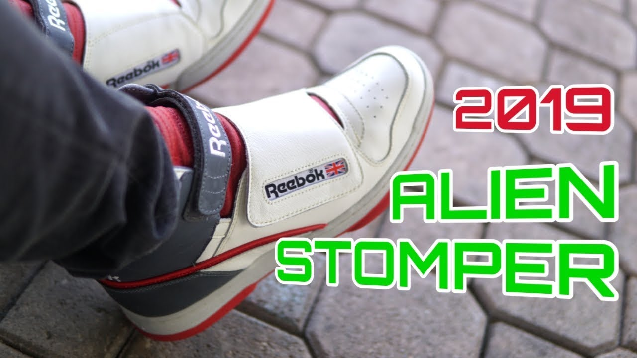 aca099f6a18 2019 Reebok Alien Stomper 40th Anniversary OG - On Feet / Review