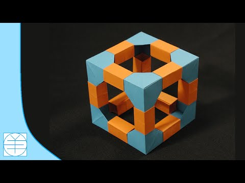 You Too Can Fold Some of Byriah Loper's Mind-Blowing Modular Origami | 360x480