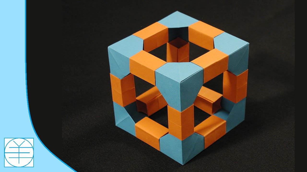 Origami Modular Cube. (Instructions) (Full HD) - YouTube - photo#48
