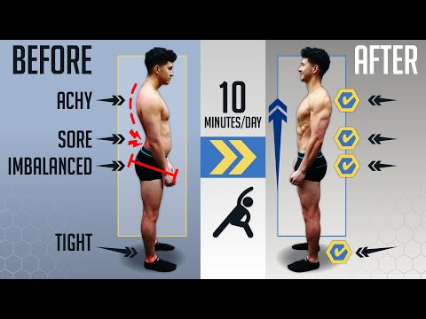 The PERFECT Mobility Routine To Fix Your SH*T! (Based On Your Body)