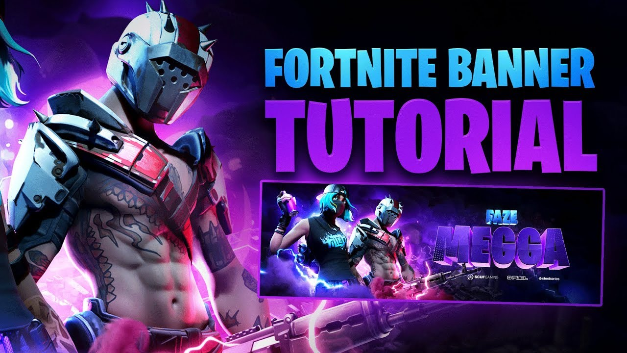 Season X Fortnite Banner Tutorial Free Psd Tutorial By Edwarddzn Youtube Tons of awesome fortnite banner wallpapers to download for free. season x fortnite banner tutorial free psd tutorial by edwarddzn