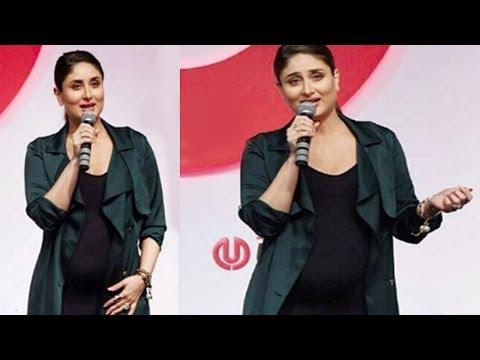 Pregnant Kareena Kapoor flaunts BABY BUMP yet again!