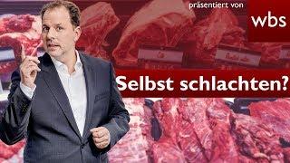 Darf ich selbst schlachten? | RA Solmecke und Ralf vom Selbstversorgerkanal