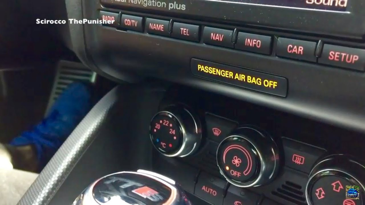 2016 Audi Q5 >> How to Turn Off Passenger Airbag Audi Cars 2017 - YouTube