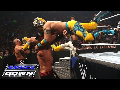 Number 1 Contenders' Triple Threat Tag Team Match: WWE SmackDown, June 4, 2015