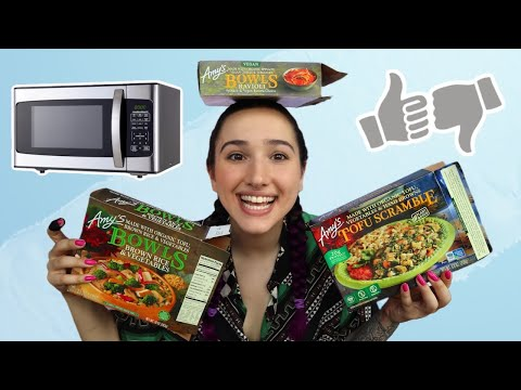 Amy's Frozen Meals Taste Test