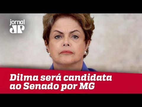 Dilma Confirma Que Será Candidata Ao Senado Por MG