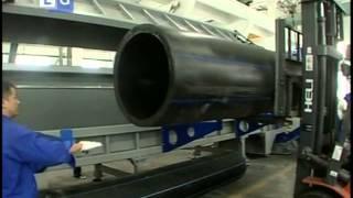 видео Пластиковые трубы большого диаметра