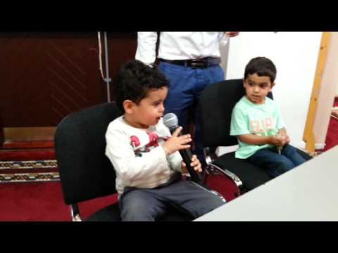 2 Jawads on the mic at M'Keynes mosque