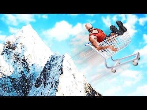 SHOPPING CART STUNTS SIMULATOR!