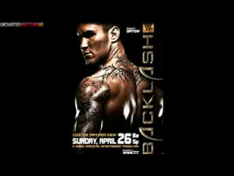 Wwe Backlash 2009 Official Poster Randy Orton Hq