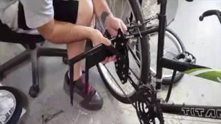Adult Stabilizer Wheels Installation