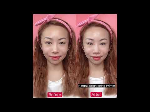 Pittoresco Tone Up Effect Cream + Natural CC Cream Tutorial
