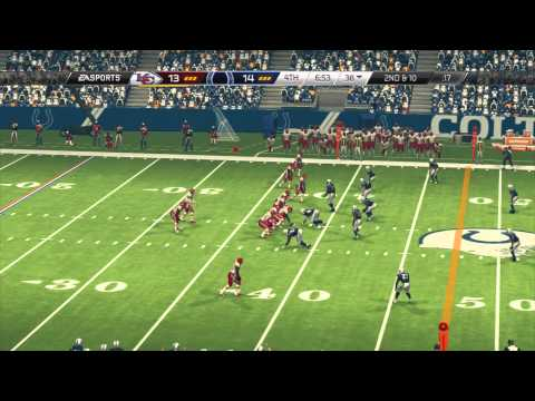 Madden 25 Wild Card Weekend 2013 Predictions - Chiefs at Colts