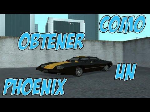 Gta San Andreas Como Conseguir Un Phoenix Turismo Vehiculos Color Unico