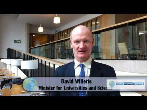 David Willetts at Global Corporate Venturing Symposium in London