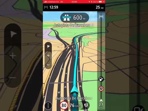Tomtom навигатор для IPhone
