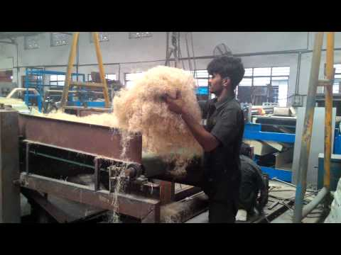 Banana Fibre Non Woven Fabric Machine