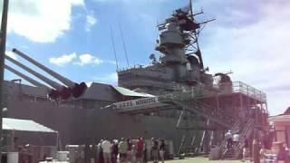 戦艦「ミズーリ」艦橋! (USS Missouri, BB-63)