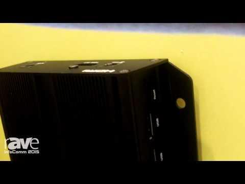 InfoComm 2015: IAdea Introduces XMP-7300 4K Media Player